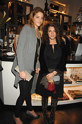 Left to right, sisters COUNTESS ANNA DE PAHLEN and GINEVRA ELKANN at a party hosted by Allegra Hicks to launch Lapo Elkann's fashion range in London held at Allegra Hicks, 28 Cadogan Place, London on 14th November 2007.<br /><br />NON EXCLUSIVE - WORLD RIGHTS