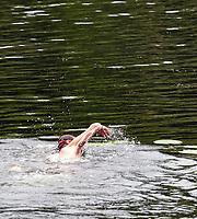 Wild Swimming at the Also Festival Park Farm, Compton Verney, Warwick 29th aug 2020 photo by Mark Anton Smith