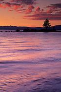 Sunset over Lake Tahoe, Nevada