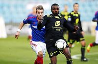 Fotball , 25. mars 2012 , Tippeligaenm , Eliteserien , <br /> Vålerenga - Haugesund 2-1<br /> Marcus Pedersen , VIF<br /> Umaru Bangura , Haugesund