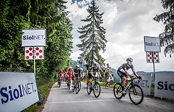 Bernhard Eisel (AUT) of Team Dimension Data during Stage 3 of 24th Tour of Slovenia 2017 / Tour de Slovenie from Celje to Rogla (167,7 km) cycling race on June 16, 2017 in Slovenia. Photo by Vid Ponikvar / Sportida