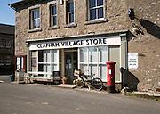 Clapham village stores shop, Clapham village, Yorkshire Dales national park, England, UK