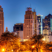 View of part of downtown Kansas City Missouri from near 8th and Harrison Street.