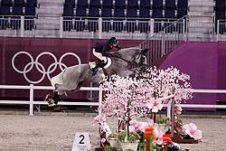 Billot Mathieu, FRA, Quel Filou 13, 335<br /> Olympic Games Tokyo 2021<br /> © Hippo Foto - Dirk Caremans<br /> 07/08/2021