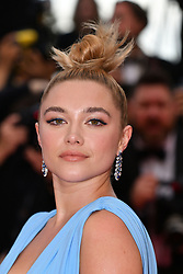 """Florence Pugh attends the screening of """"La Belle Epoque"""" during the 72nd annual Cannes Film Festival on May 20, 2019 in Cannes, France. Photo by Lionel Hahn/ABACAPRESS.COM"""
