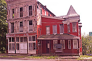 Northcentral Pennsylvania, derelict housing, US Route #6, PA