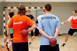 during practice session of Slovenian Handball Men National Team, on November 4, 2011, in Zrece, Slovenia.  (Photo by Vid Ponikvar / Sportida)