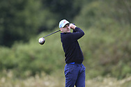 Brian Timlin (Galway) during the second round at the Connacht Mid Amateur Open, Roscommon Golf Club, Roscommon, Roscommon, Ireland. 17/08/2019.<br /> Picture Fran Caffrey / Golffile.ie<br /> <br /> All photo usage must carry mandatory copyright credit (© Golffile   Fran Caffrey)