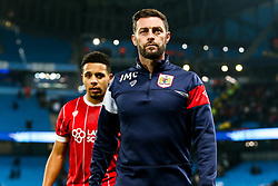 Bristol City Assistant Head Coach Jamie McAllister comes off the pitch after Manchester City win 2-1 in added time - Rogan/JMP - 09/01/2018 - Etihad Stadium - Manchester, England - Manchester City v Bristol City - Carabao Cup Semi Final First Leg.
