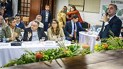 Reunião de Presidentes de Federações e CNA durante a 39º Expointer - Exposição Internacional de Animais, Máquinas, Implementos e Produtos Agropecuários. A maior feira a céu aberto da América Latina,  promovida pela Secretaria de Agricultura e Pecuária do Governo do Rio Grande do Sul, ocorre no Parque de Exposições Assis Brasil, entre 27 de agosto e 04 de setembro de 2016 e reúne as últimas novidades da tecnologia agropecuária e agroindustrial. FOTO: Alessandra Bruny / Agência Preview