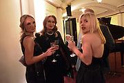 DARINA LOOVSKY; OXANA AGAPOVA; IRENE BELENOVA, The Backstage Gala in aid of the Naked Heart Foundation. Coliseum theatre. London. 17 April 2015