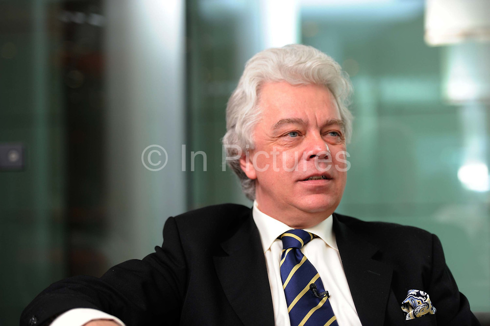 The Music Director and Principal Conductor of the London Chamber Orchestra, Christopher Warren-Green, speaks during an interview on March 16th 2011 in London, United Kingdom. Christopher Warren-Green is a British violinist and conductor. He was born in Gloucestershire and attended Westminster City School, where he was a chorister, and later the Royal Academy of Music.