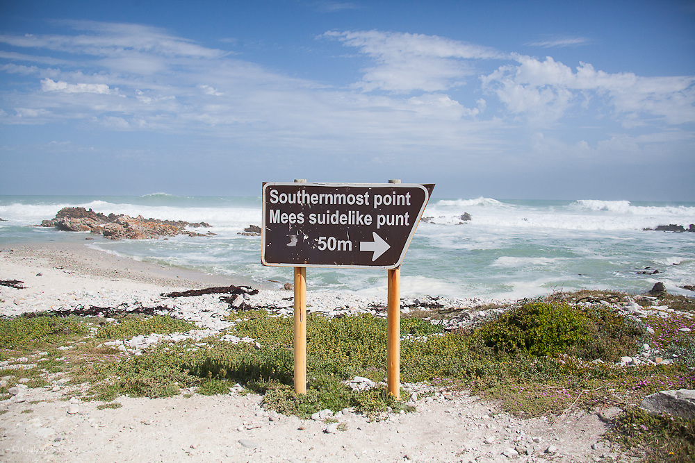 Southernmost tip of Africa. De Hoop Nature Reserve. Western Cape. South Africa.