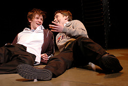 Citizenship<br /> at the Cottesloe Theater, London, Great Britain<br /> March 14, 2006<br /> press photocall<br /> <br /> Matt Smith - left<br /> Sid Mitchell -right<br /> <br /> photograh by Elliott Franks