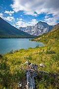 Lake Josephine, Grinnell Lake Trail