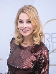 January 27, 2019 - Los Angeles, California, U.S - Sharon Lawrence at the red carpet of the 25th Annual Screen Actors Guild Awards held at the Shrine Auditorium in Los Angeles, California, Sunday January 27, 2019. (Credit Image: © Prensa Internacional via ZUMA Wire)