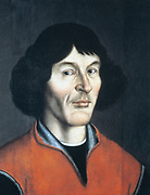 Nicolas Copernicus (1473-1543) Polish astronomer. Heliocentric system of the universe. Anonymous 16th century portrait.