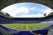 a General view inside White Hart Lane Stadium before k/o. Barclays Premier league match, Tottenham Hotspur v Stoke city at White Hart Lane in London on Saturday 15th August 2015.<br /> pic by John Patrick Fletcher, Andrew Orchard sports photography.