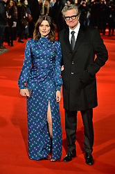© Licensed to London News Pictures. 06/02/2018. London, UK. RACHEL WEISZ and COLIN FIRTH attends the world film premiere of The Mercy. Photo credit: Ray Tang/LNP