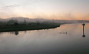 """The Napa River has become an attraction in wine country. Napa's unique flood control project adopts a """"living river"""" strategy that will make room for water to flow by widening bridges and removing levees, thus restoring wetlands, riparian habitat and fish populations while at the same time protecting property from floods."""