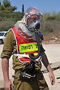The Israeli Home Front Command, in conjunction with the various rescue and emergency bodies in Haifa, has performed the largest home front drill ever held in Haifa. The exercise simulated hundreds of rockets striking the city, including direct hits on strategic buildings. The drill incorporated an exercise in which the military and civilian forces dealt with an attack involving hazardous materials, as well as exercises in which the civilian population is evacuated to protected facilities. Additionally, the forces simulated a rocket attack on Haifa's Technion University, during which gas were distributed to residents in the relevant areas. July 19, 2012,
