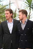 Garrett Hedlund, Justin Timberlake, .at the Coen brother's new film 'Inside Llewyn Davis' photocall at the Cannes Film Festival Sunday 19th May 2013