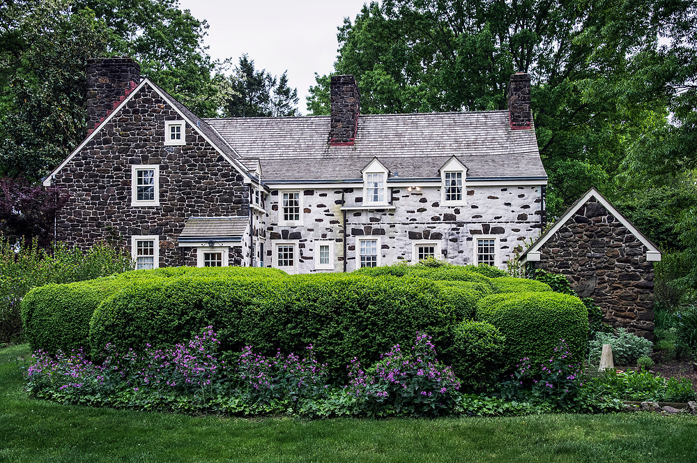 Historic Peachfield Plantation house, Mount Holly, New Jersey, USA