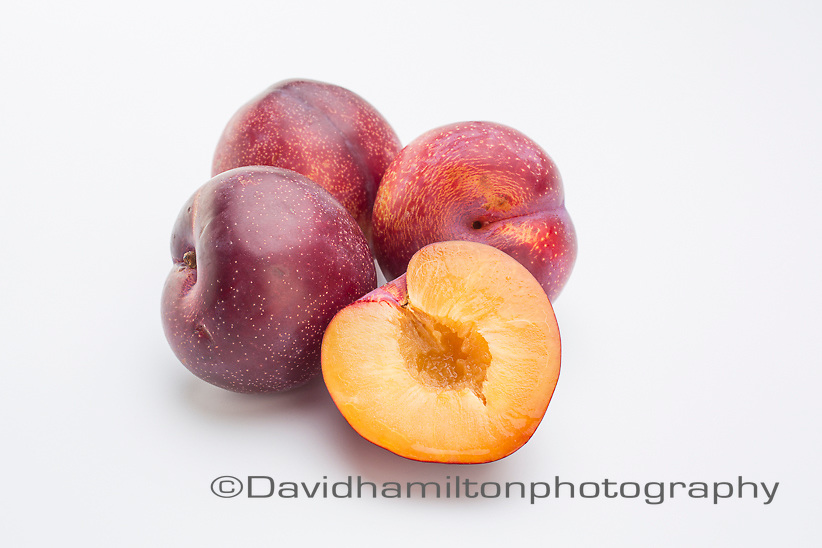 Yellow and red Plum
