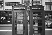 Phone boxes The Strand, London,  23 August 2018