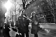 Women on Bahnhofstrasse, which leads to Paradeplatz, HQ of Credit Suisse and UBS, and itself hosts offices of banks Claiden Leu, and Julius Baer not to mention a vast array of luxury brand boutiques and Jewellers, much favoured by wives of bankers and their clients.