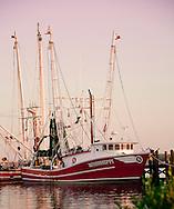 Biloxi Mississippi Shrimp Boat at sunrise