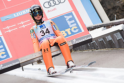 February 8, 2019 - Ljubno, Savinjska, Slovenia - Nika Kriznar of Slovenia on first competition day of the FIS Ski Jumping World Cup Ladies Ljubno on February 8, 2019 in Ljubno, Slovenia. (Credit Image: © Rok Rakun/Pacific Press via ZUMA Wire)