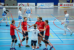 Taurus celebrate during the league match Taurus - Amysoft Lycurgus on January 16, 2021 in Houten.