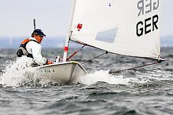 , Travemünder Woche 19. - 28.07.2019, Laser Standard - GER 155779 - Tobias CREFELD - Universitäts-Sportclub München e. V., Segelabteilunge