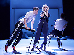 If You Kiss Me, Kiss Me                                    <br /> Conceived by Jane Horrocks and Aletta Collins<br /> at The Young Vic Theatre, London, Great Britain <br /> Press photocall <br /> 14th March 2016 <br /> <br /> <br /> Jane Horrocks<br /> Conor Doyle<br /> <br /> <br /> Photograph by Elliott Franks <br /> Image licensed to Elliott Franks Photography Services