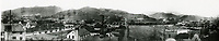 1910 Panorama Looking northwest from Hollywood Blvd. & Highland Ave.