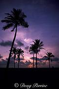 sunrise on Miami Beach, Florida ( Western Atlantic Ocean )