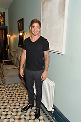 DANNY CIPRIANI at the launch of Give Me Sport Magazine held at Library, 112 St.Martin's Lane, London on 30th July 2014.