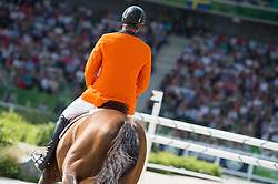 Jeroen Dubbeldam, (NED), Orient Express HDC - Show Jumping Final Four - Alltech FEI World Equestrian Games™ 2014 - Normandy, France.<br /> © Hippo Foto Team - Jon Stroud<br /> 07/09/2014