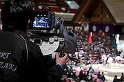 Sumo wrestling event Ryogoky stadium Tokyo