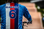 #6 (HLADIKOVA Aneta) CZE at the 2016 UCI BMX World Championships in Medellin, Colombia.