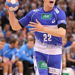 Hamburg, 24.05.2015, Sport, Handball, DKB Handball Bundesliga, HSV Handball - SG Flensburg-Handewitt : Kentin Mahé (HSV Handball, #22)<br /> <br /> Foto © P-I-X.org *** Foto ist honorarpflichtig! *** Auf Anfrage in hoeherer Qualitaet/Aufloesung. Belegexemplar erbeten. Veroeffentlichung ausschliesslich fuer journalistisch-publizistische Zwecke. For editorial use only.