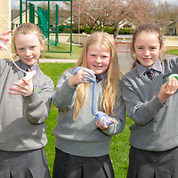 Rebecca Kieran, Eadaoin Lane and Maeve Millea from Parteen NS with their Jessies Project Slime