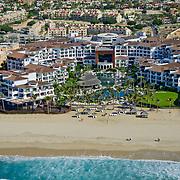 Aerial view of . Cabo Azul hotel. San Jose del Cabo. Baja California Sur, Mexico.