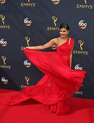 Priyanka Chopra arriving for The 68th Emmy Awards at the Microsoft Theater, LA Live, Los Angeles, 18th September 2016.