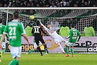 Goal Pablo CHAVARRIA - 06.02.2015 - Saint Etienne / Lens - 24eme journee de Ligue 1 -<br />Photo : Jean Paul Thomas / Icon Sport