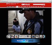 """Wrestling love"", in Bolivia, CNN, May 5, 2014. Photographs by Rodrigo Cruz"