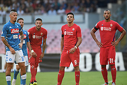 September 15, 2018 - Naples, Naples, Italy - Giovanni Simeone of ACF Fiorentina during the Serie A TIM match between SSC Napoli and ACF Fiorentina at Stadio San Paolo Naples Italy on 15 September 2018. (Credit Image: © Franco Romano/NurPhoto/ZUMA Press)