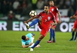Theo Walcott of England controls the ball - Mandatory by-line: Robbie Stephenson/JMP - 11/10/2016 - FOOTBALL - RSC Stozice - Ljubljana, England - Slovenia v England - World Cup European Qualifier