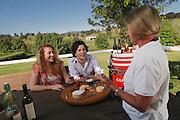 Wine Tasting, Camyr Vineyard, Upper Hunter Valley, NSW, Australia